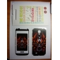 Monster Head Pattern Front and Back Protector Stickers for Samsung Galaxy S4 I9500