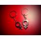 Homme d'aluminium 1-Pair et Femme Couple Tag Keychain