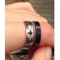 Eruner®Unisex Cross and Scripture Titanium Steel Ring