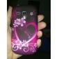 Papillon et coeur-forme de modèle TPU Soft Case pour Samsung Galaxy I8910 Mini S3