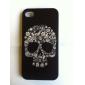 아이폰 5/5S를위한 다채로운 두개골 본 단단한 케이스