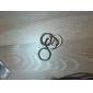 le punk style vintage anneau de bronze ensemble des femmes (4pcs)