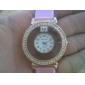 Reloj Pulsera Quartz Análogo de Moda con Correa de Cuero PU de Mujer (Colores surtidos)