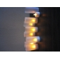 Warm Yellow Light LED Candle Lamps for Wedding Party Gifts (8-Pack)