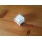 couleur cube de glace en forme de mini-changement de lumière de décoration conduit