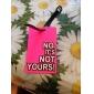Travel Luggage Tag - NO, NO ES TUYO (Rosa)