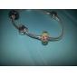 S925 Murano Lampwork Glass Beads(Black)