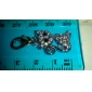 Rhinestone Decorated Lovely Cat Style Collar Charm for Dogs Cats