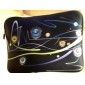 """Music Line""Pattern Nylon Material Waterproof Sleeve Case for 11""/13""/15"" Laptop&Tablet"