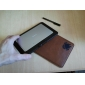 Funda de cuero artificial de Brown para 7 pulgadas Tablet PC 86041