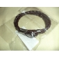 Eruner®Men's Wing Pattern Cowhide Bracelet (Coffee)
