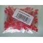 5мм красный светодиод светодиодные лампочки (100 штук в упаковке)