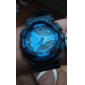 Silicone Band LED Sport Watch(Blue)