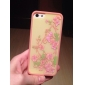 Exquisite Design Flower Pattern 2 in 1 Bumper and Back Case for iPhone 5/5S