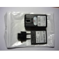 3.7V 2800mAh Battery, USB Charger and Detachable EU Adapter for Samsung Galaxy S4 I9500