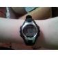 Kinder-Multi-Funktions-Metallrahmen lcd digital Gummiband-Armbanduhr (farblich sortiert)