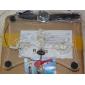 Olcsó Stílusos White 3-Fan Döntött Laptop hűtő pad (USB-ről működtethető)