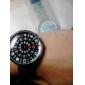 Relógio Unissexo Analógico em Aço(Prateado)