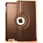 Litchi Grain PU Leather Case with 360°Rotatable Hardshell Stand for iPad 2/3/4