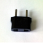 EU Plug to EU and US Plug AC Power Adapter (110-240V)
