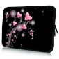 """Heart Bubbles Neoprene Laptop Sleeve Case for 10-15"""" iPad MacBook Dell HP Acer Samsung"""