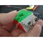 Mini Type C 3x3x3 Magic Puzzle Cube Keychain (Mixup)