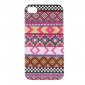 Purple Stripe Pattern Protective Hard Case for iPhone 4/4S