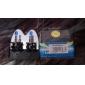 h1 5000K 55W super-luz branca auto lâmpadas (dc 12v/pair)