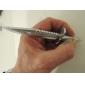 daga bolígrafo de tinta azul en forma de