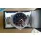 Men's Business Style Silver Alloy Quartz Wrist Watch (Assorted Colors)