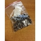 8mm Square Grey Metal Rivet (Contain 100 Pics)