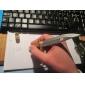 Dagger Shaped Black Ink Gel Pen (Random Color)