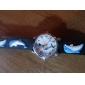 enfants de silicone dauphin de style analogique montre-bracelet à quartz avec de la lumière conduit à clignoter (noir)