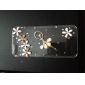Ballet Girl Transparent Back Case for iPhone 5/5S
