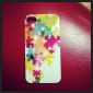 Joyland Colorful Puzzle Pattern Back Case for iPhone 4/4S
