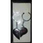 A par de magnetos em forma de coração amantes Chaveiros