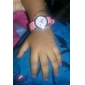 Children's Watch Heart Pattern Pink Silicone Strap Cool Watches Unique Watches