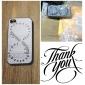 iPhone 4/4S를위한 두 배 원형 기러기 색깔 그리기 패턴 블랙 프레임 PC 단단한 상자