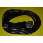 USB-Stecker an Micro-USB-Kabel männlich Datum für Samsung Galaxy i9300 S3 (schwarz)