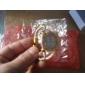 レディース きらきらゴールドケース入りアロイ製エレガント・ブレスレットウォッチ
