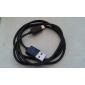 usb sync a nabíjení kabel pro Samsung Galaxy poznámce 4 / S4 / S3 / s2 a htc / lg / sony / nokia (100 cm délka)