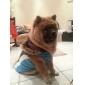 Собаки Плащи / Толстовки Красный / Зеленый / Синий / Розоватый Одежда для собак Зима Тиары и короны