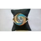 Women's Diamond Dial Steel Analog Quartz Bracelet Watch (Multi-Color)