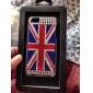 strass cas de modèle de drapeau britannique de style dur pour l'iphone 5/5s