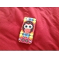Cartoon Owl Pattern PC Hard Back Cover for iPhone 5/5S
