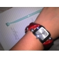 Women's Triangle Style Plastic Analog Quartz Bracelet Watch (Assorted Colors)