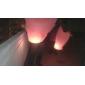 Heart-shape Flying Sky Wishing Lantern Kongming Light (Random Color)