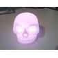 Skull Shaped Colorful LED Night Light (3xAG13)