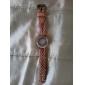 Женские Модные часы Часы-браслет Кварцевый PU Группа Винтаж Цветы Богемные Черный Синий Красный Коричневый Зеленый