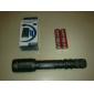 LED손전등 / 손전등 LED 5 모드 1600 루멘 Cree XM-L T6 18650 고유 화재 , 그레이 알루미늄 합금